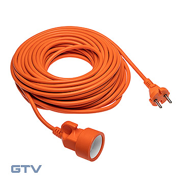 Prelungitor pentru gradina universal 10 m HV05VV-F 2x1mm2 (Shuko/French)