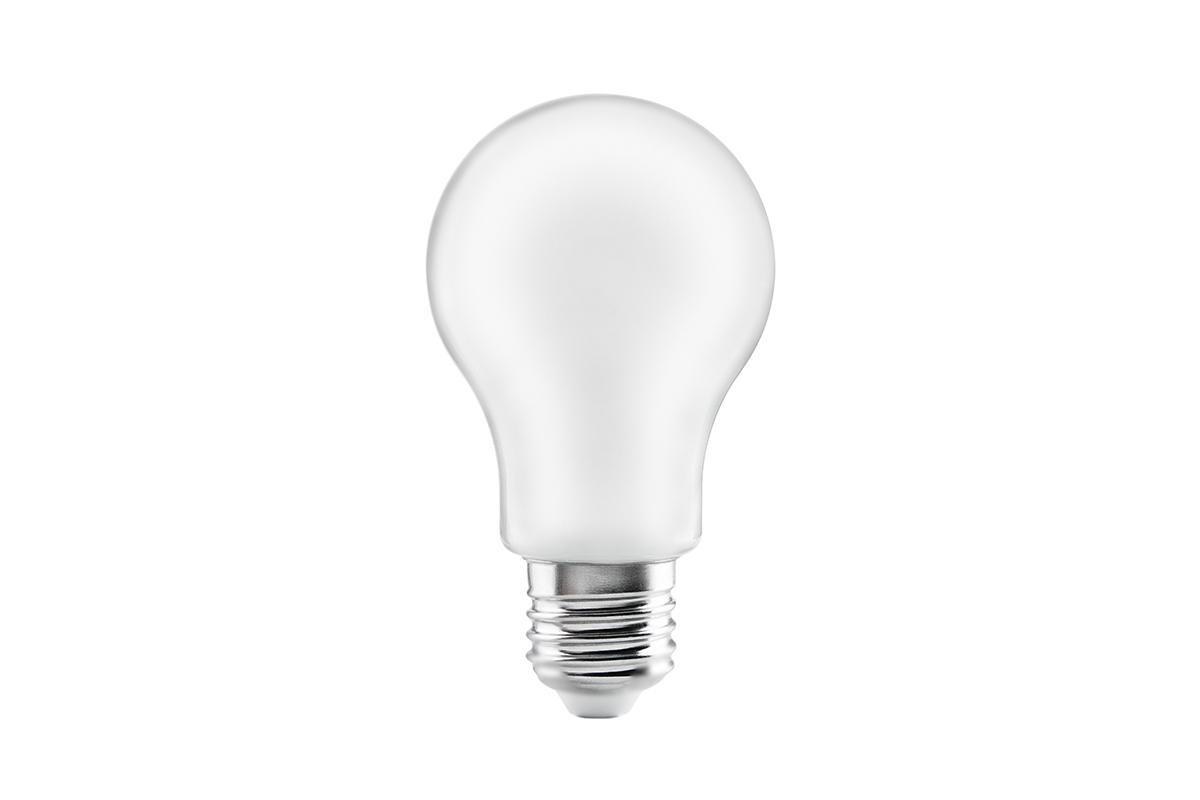 Bec LED FILAMENT A60, 3000K, E27, 8W, 360°, 800 lm, 70 mA