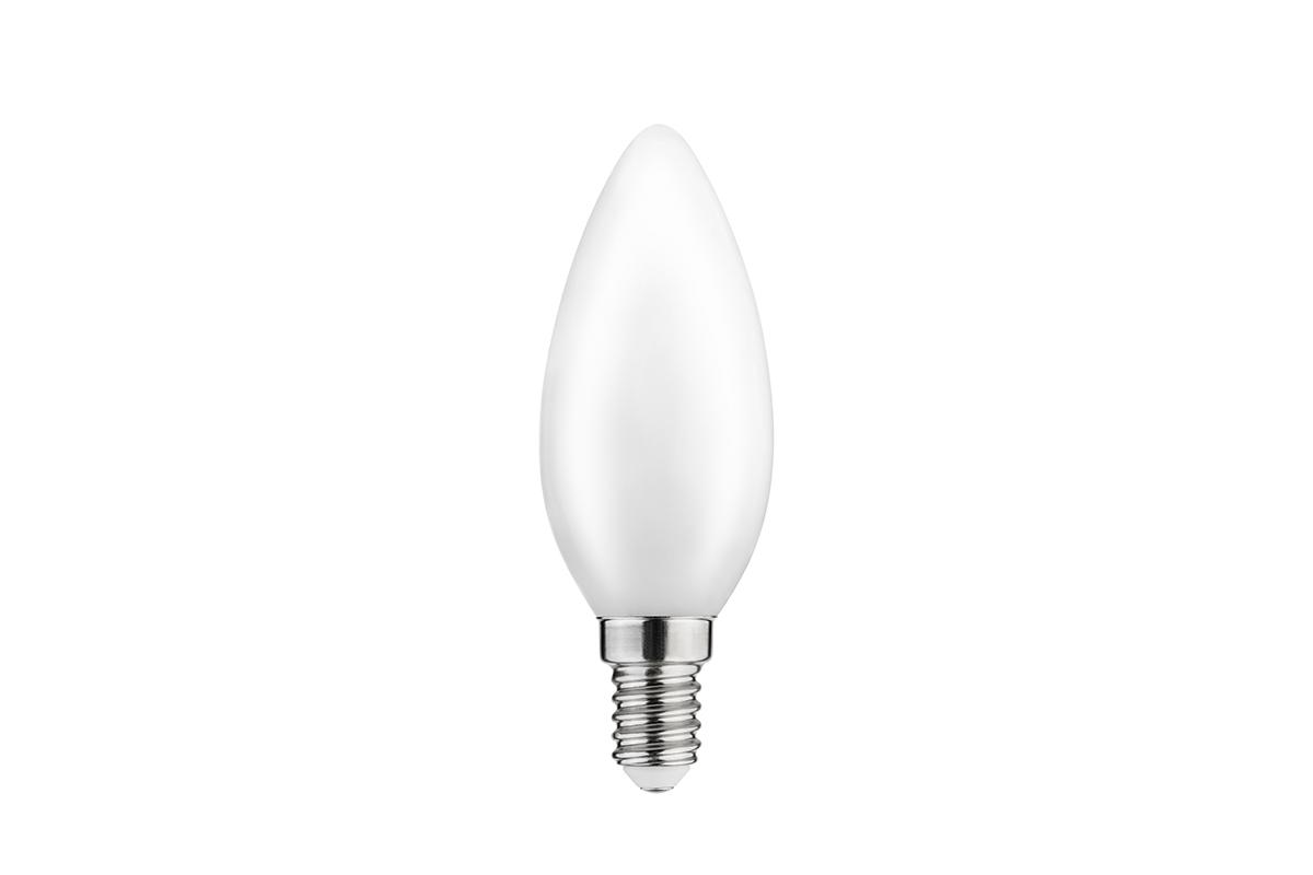 Bec LED FILAMENT C35, 3000K, E14, 4W, 360°, 400 lm, 35 mA