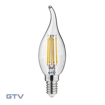 Bec LED Filament 5W E14 3000K C35L