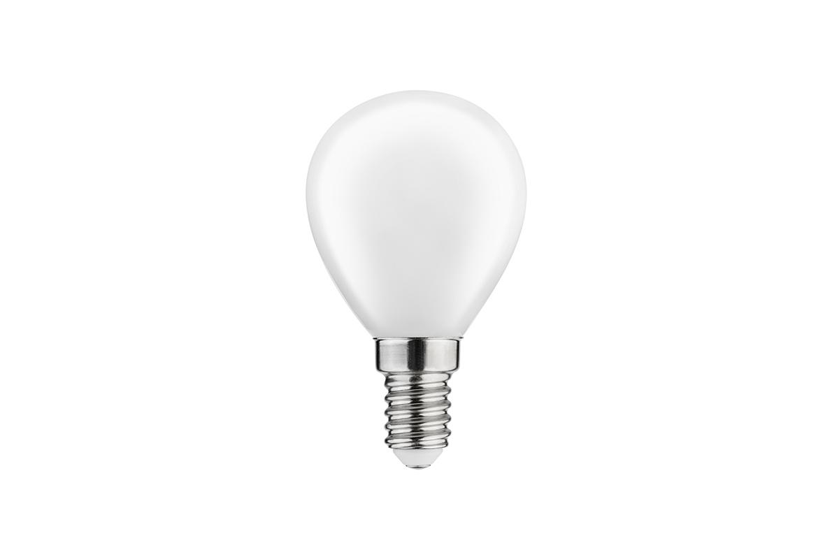 Bec LED FILAMENT C45, 3000K, E14, 4W, 360°, 400 lm, 35 mA