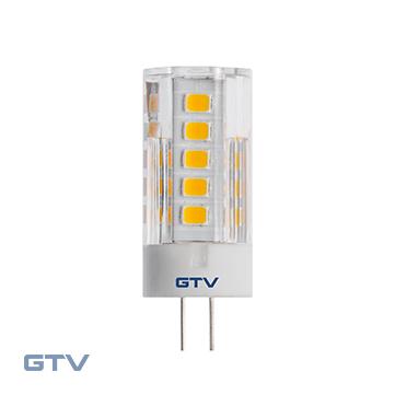 Bec LED SMD 2835, 3000K, G4, 3,5W, 12V DC, 360*, 320lm