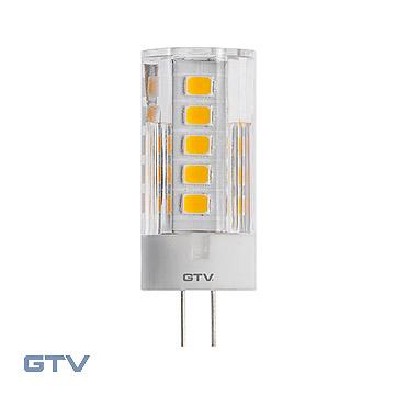 Bec LED SMD 2835, 4000K, G4, 3,5W, 12V DC, 360*, 320lm