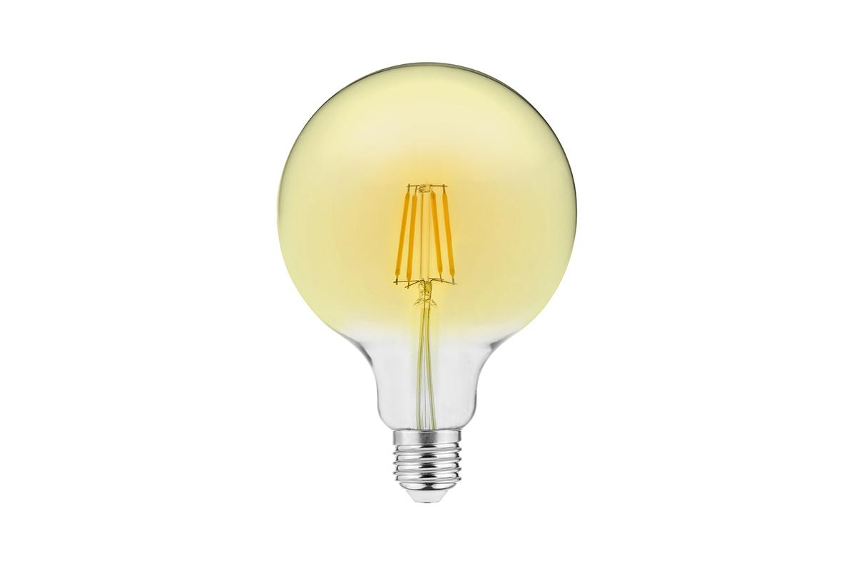 Bec LED Decorativ FILAMENT VINTAGE, G95, E27, 4W, 400lm